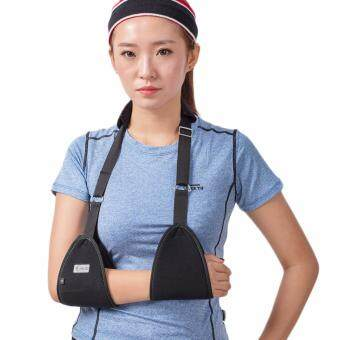 Harga Adjust Arm Sling Padded Forearm Fracture Wrist Sprain Injury Support Pain Relief Brace Strap Black