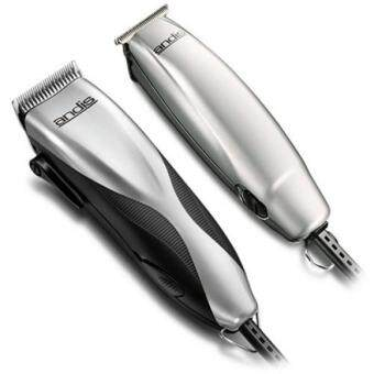 Harga GPL/ Andis Promotor+ 23-Piece Clipper/Trimmer Combo Haircutting Kit, Silver (29115)/ship from USA