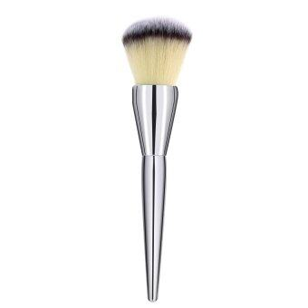 Harga KUNPENG Professional Makeup Brush 200 Flawless Blush Powder Brush KabukiSilver