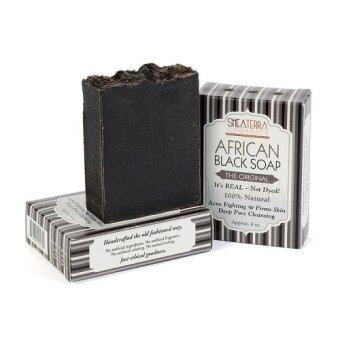 Harga Shea Terra Organics Authentic African Black Soap