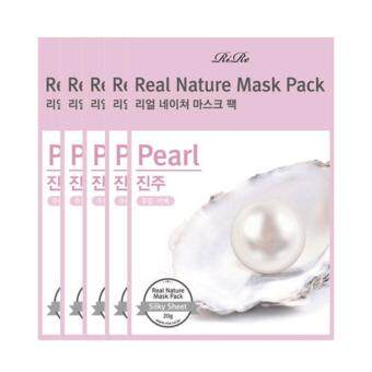 Harga RiRe Real Nature Mask Pack (Pearl)_10pc
