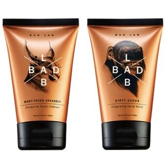 Harga Bad Lab Facial Cleanser (100ml)+Scrub (100ml)