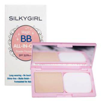 Harga SILKY GIRL Magic BB All In One Powder Foundation 04 1's