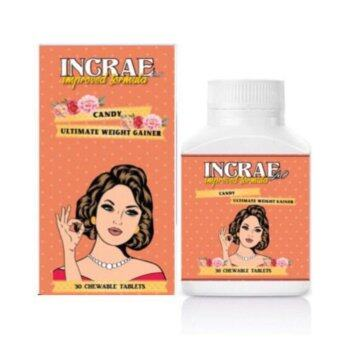 INCRAE 2.0 Chewable Candy Ultimate Weight Gain (Improved Formula) -Strawberry Flavour