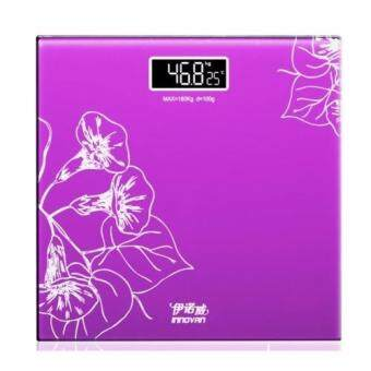 Innov Digital Scale High Accuracy Weight Scale Precision householdweighing machine body weight loss measuring scale (Purple)
