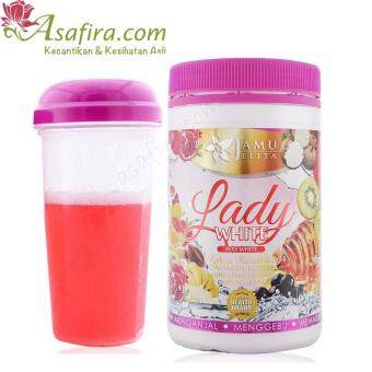 Harga Jamu Jelita Lady White 400g - 2 Units
