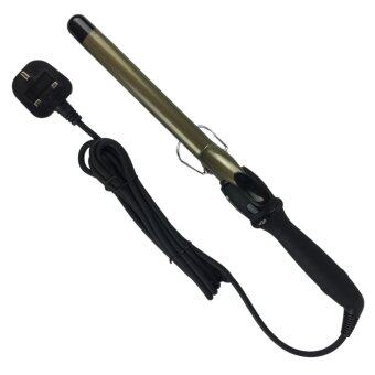 JP Ceramic Curling Iron Curling Tong Curler 22mm (Titanium DarkGold)