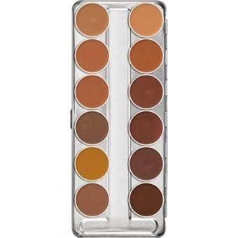 *RM489.15* Kryolan Dermacolor Camouflage Creme 12 Colors .