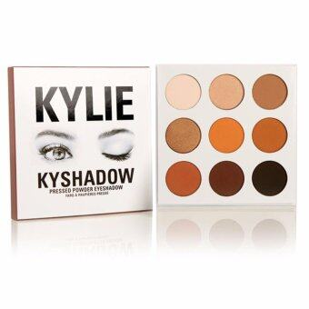 Harga Kylie Eyeshadow The Bronze Palette Kyshadow 9 shades Pressed powdereye shadow palette