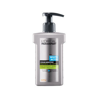 Harga L'OREAL MEN EXPERT Men White Activ Cooling Serum Foam 150ml