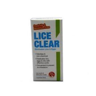 Harga Lice Clear 70ml Anti- Kutu/Treat Head Lice (Free Comb X 2 bottles)