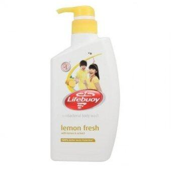 Harga Lifebuoy Lemon Fresh Antibacterial Body Wash 500ml