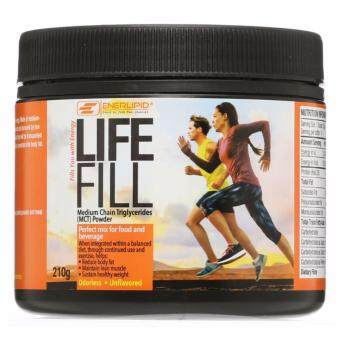 Harga LifeFill MCT Powder 210g Natural 100% MCT
