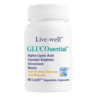 Live Well Glucosential 60S