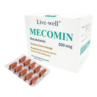 Live Well Mecomin 500mcg 90 Vc