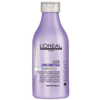 Harga Loreal Liss Unlimited Smoothing Shampoo (250ml)