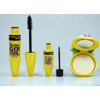 Maybelline 3 in 1 Mascara + Eyeliner + Powder Compact (code 2 ) - HOT SALE!