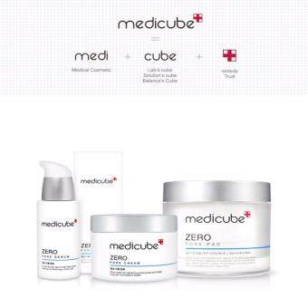 MEDICUBE * ZERO Pore SET (Pore serum, cream, pad) / pore care /pore tightening / kbeauty