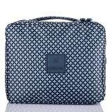Mello Yello Multi-function Makeup Cosmetic Bag Toiletry Travel Kit Organizer (Dark Blue)