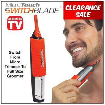 Harga Micro Touch Switchblade All In One Trimmer Groomer Shaver HairRemover