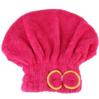 microfiber hair turban quickly dry hair hat wrapped towel bathred intl