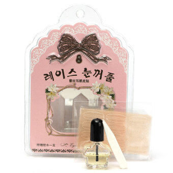 Harga Miss Bowbow Mesh Type Double Eyelid Tape With Quick Dry Glue 60setsProfessional S (Intl)