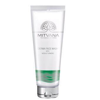 Harga MITVANA Derma Face Wash with Neem and Turmeric (100ml)