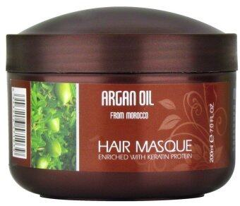 Harga Morocco Argan Oil Hair Mask 200ml # Formulated in Italy