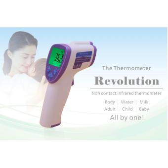Harga Multi-Function Adult Baby Non-contact Infrared Red Forehead Body Thermometer Gun