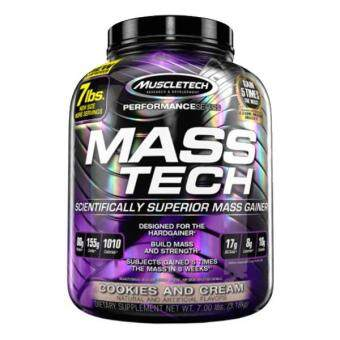 Harga MuscleTech Mass Tech, Cookies & Cream, 7lbs