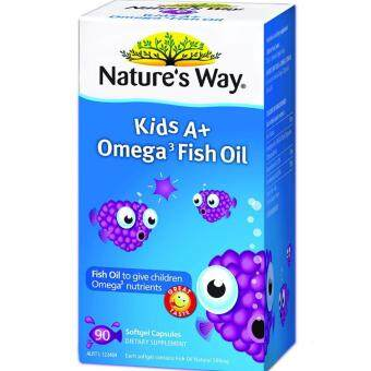 Nature's Way Kids A+ Omega 3 Fish Oil 90's