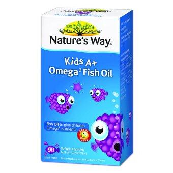 Nature's Way Kid'S A+ Omega Fish Oil 90's