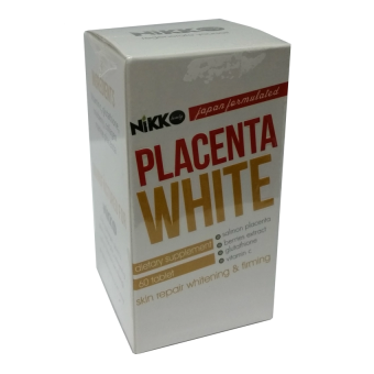 Harga NIKKO PLACENTA WHITE: Japan Formulated Skin Supplement