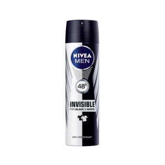 Harga NIVEA FOR MEN Nivea For Men Deo Invisible Black & White Spray150ML