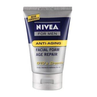 Harga Nivea For Men Q10 Anti-Aging Facial Foam 100G