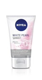 Harga NIVEA White Pearl Deep Cleansing Mud Foam