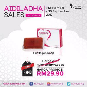 Harga NURRAYSA COLLAGEN SOAP (55GRAM)
