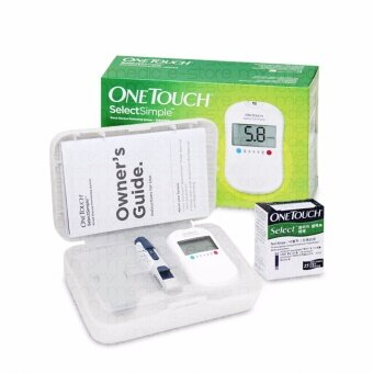 Harga One Touch Select Simple Blood Glucose Monitor With 25s Strips