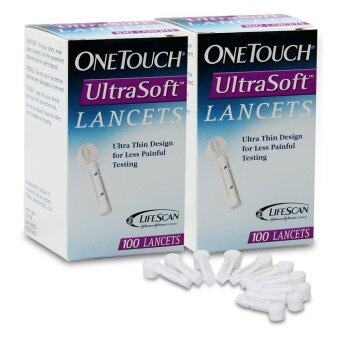 Harga One Touch UltraSoft Lancets 100's x 2