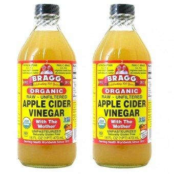 Harga (Original) Bragg Organic Apple Cider Vinegar 946ML x 2 bottles