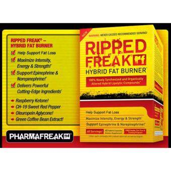 Harga [ORIGINAL] Ripped Freak Hybrid Fat Burner by PharmaFreak - 60 Capsules