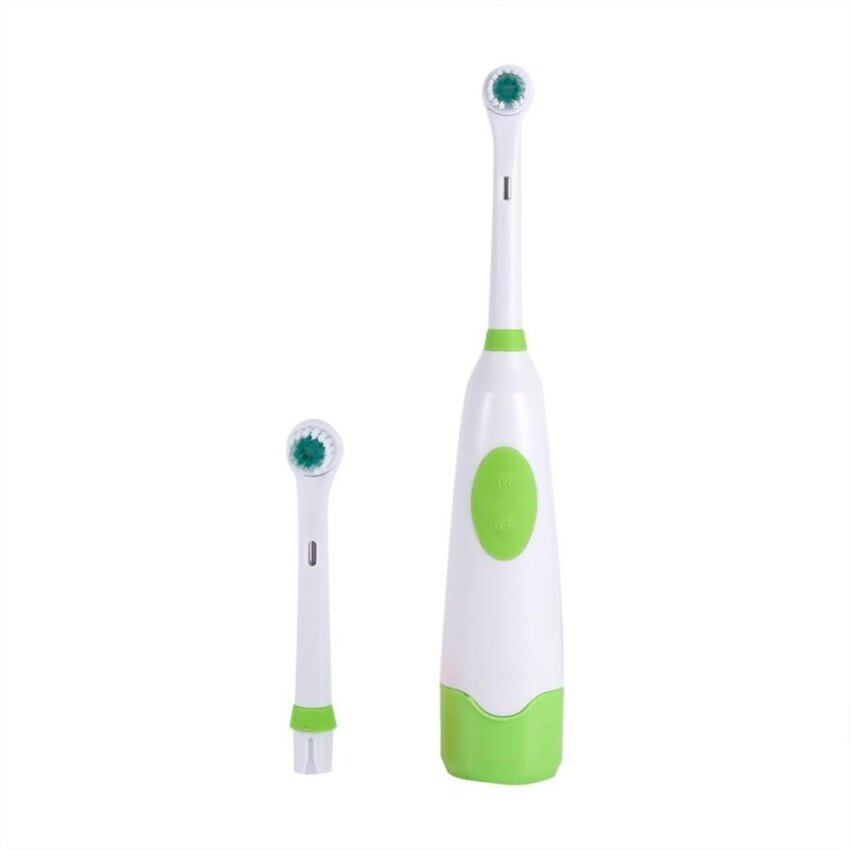แปรงสีฟันไฟฟ้า รอยยิ้มขาวสดใสใน 1 สัปดาห์ ประจวบคีรีขันธ์ Professional การดูแลทันตสุขภาพช่องปากทำความสะอาดแปรงสีฟันไฟฟ้า WithReplaceable หัว  สีเขียว