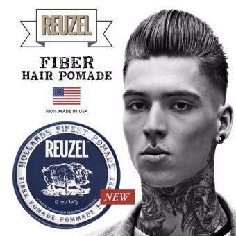 Harga REUZEL Water Soluble Fiber (Fibre) Hair Pomade - Pliable Hold,Natural Finish (113g) Made In USA