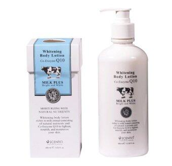Scentio Beauty Buffet Milk Plus Whitening Co-enzyme Q10 Body Lotion400ml