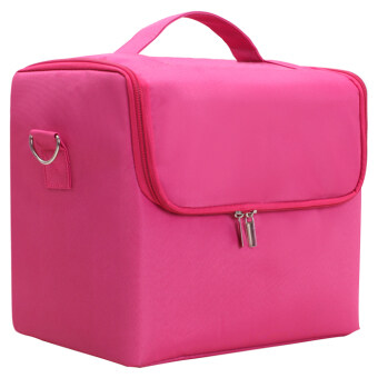 Semi-FOREVER beauty nail pattern embroidery tool box makeup bag