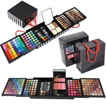 Sinma 177 Color PRO Makeup Set Eye Shadow Palette Blush Lip Gloss Brow Shader Concealer Eye shadow Gel