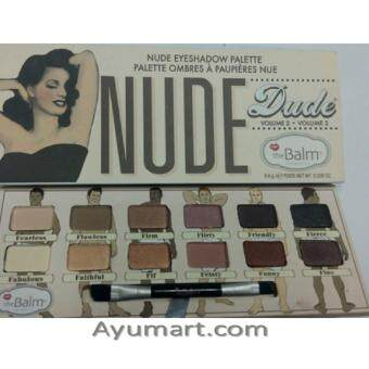 THE BALM NUDE DUDE VOLUME 2 EYESHADOW PALETTE