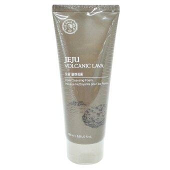 Harga The Face Shop Jeju Volcanic Lava Cleansing Foam 150ml