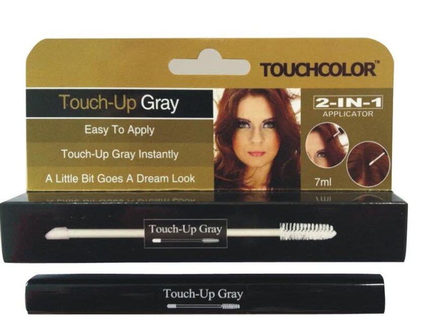 Touchcolour Root Touch Up Mascara Grey Hair Cover 2 Dual Stick