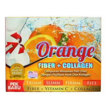 Harga V Asia Orange Fiber + COLLAGEN